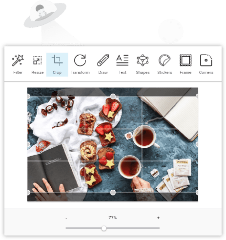 Built-In Image Editor